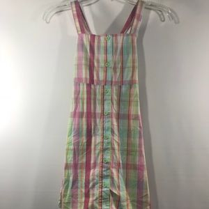 Crazy 8 Girls Plaid Dress